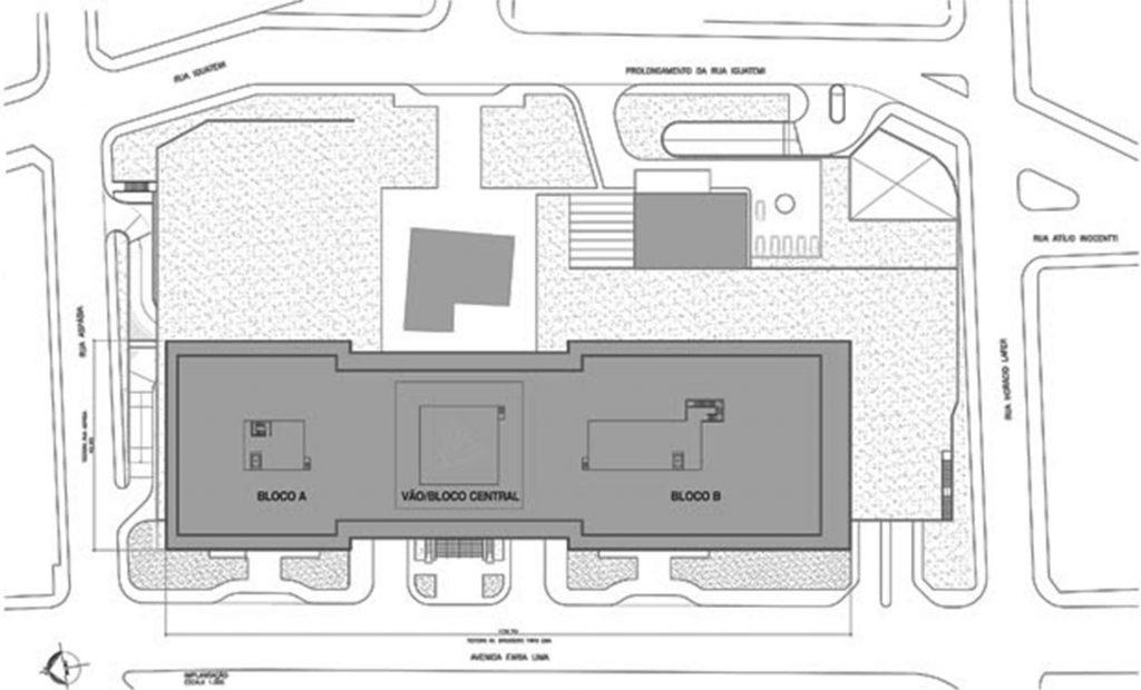 Fig. 9 a 11. Desenho do projeto do centro comercial, aprovado pelo Conpresp, através do processo 2009-0.143.969-6 (fonte: Site SkyscraperCity: Acesso em 25/11/2016).